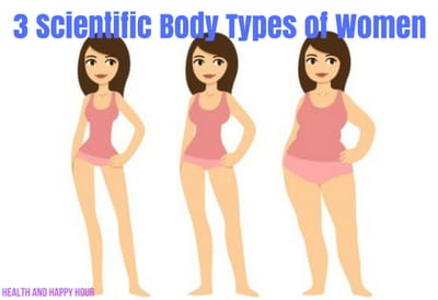 3 Scientific Body Types of Women