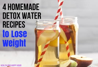 homemade detox water recipes to lose weight