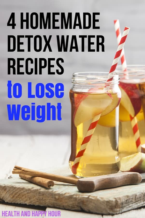 While these homemade detox water recipes to lose weight won't help you shed any pounds if you're eating a pint of ice cream after dinner every night and not exercising, they are a great substitute for coke and wine if you're trying to avoid those unhealthy drinks. | Health and Happy Hour